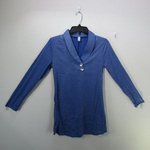 Leo Rosi Blue women's Top Small Long sleeve